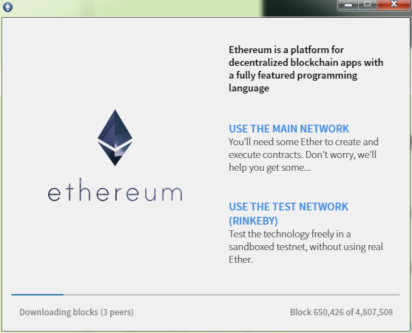 Ethereum以太坊钱包教程