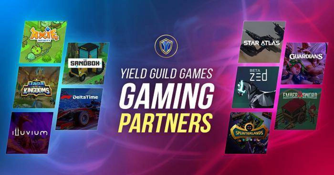 除了Axie Infinity,YGG还青睐哪些NFT游戏?
