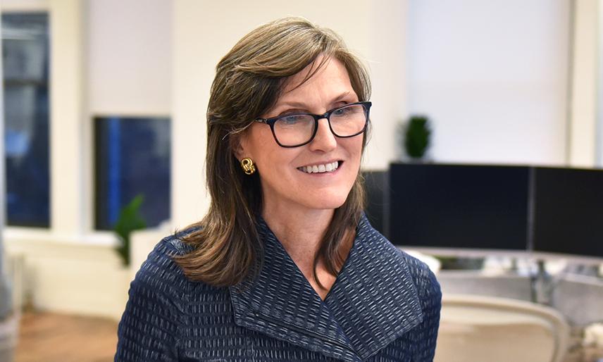 """""""木头姐""""Cathie Wood在减持Coinbase、Square等股票后,瞄准投资加拿大比特币ETF"""