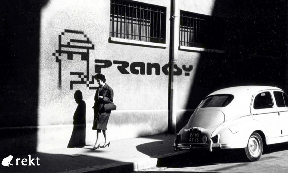 虚假Banksy NFT:是Pranksy为名监守自盗,还是黑客恶作剧